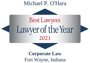 Best Lawyers Award Badge Michael O'Hara