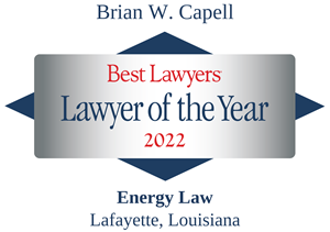 LOTY Logo for Brian W. Capell