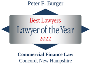 LOTY Logo for Peter F. Burger