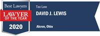 LOTY Logo for David J. Lewis