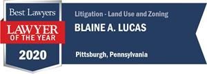 LOTY Logo for Blaine A. Lucas