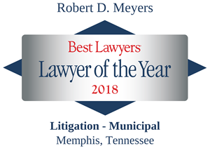LOTY Logo for Robert D. Meyers