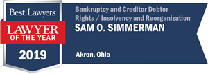 LOTY Logo for Sam O. Simmerman