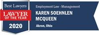 LOTY Logo for Karen Soehnlen McQueen