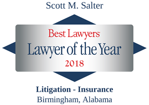 Scott Salter's Lawyer of the Year 2018 Accolade