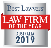 Law Firm of the Year Badge for 2019 Australia
