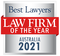 Law Firm of the Year Badge for 2021 Australia