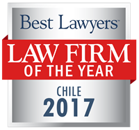 Law Firm of the Year Badge for 2017 Chile