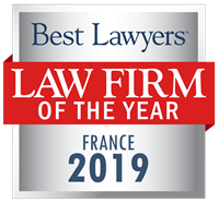 Law Firm of the Year Badge for 2019 France