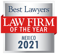 Law Firm of the Year Badge for 2021 Mexico