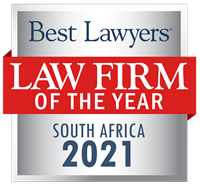 Law Firm of the Year Badge for 2021 South Africa