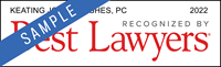 Keating Jones Hughes, Recognized By Best Lawyers