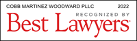 COBB MARTINEZ WOODWARD PLLC 2015 Listed In Best LAwyers Linking Lawyers and Clients Worldwide