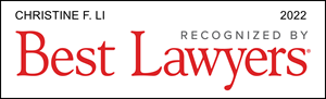 Christine F. Li Listed in Best Lawyers