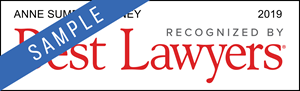 Anne Sumpter Arney - Best Lawyers Award Badge
