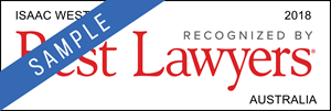 Best Lawyers Isaac West Corporate Law