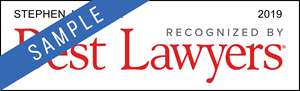 Stephen J. Zralek - Best Lawyers Award Badge