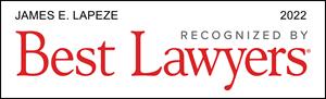 Listed Logo for James E. Lapeze