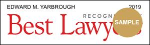 Edward M. Yarhrough - Best Lawyers Award Badge