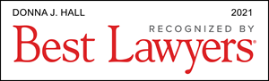 Best Lawyers Award Badge - Donna Hall