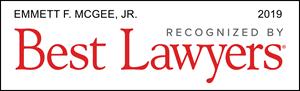 Best Lawyers 2019 - Emmett F. McGee Jr.