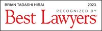 Brian Tadashi Hirai Listed in Best Lawyers