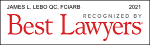 Listed Logo for James L. Lebo QC, FCIArb