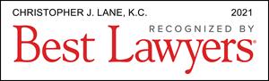 Listed Logo for Christopher J. Lane, Q.C.