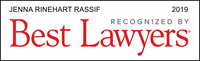 Best Lawyers 2019 - Jenna Rinehart Rassif