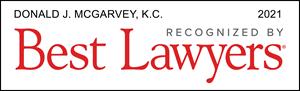Listed Logo for Donald J. McGarvey, Q.C.