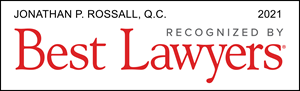 Listed Logo for Jonathan P. Rossall, Q.C.