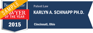 Karlyn A. Schnapp has earned a Lawyer of the Year award for 2015!