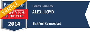 Alex Lloyd has earned a Lawyer of the Year award for 2014!