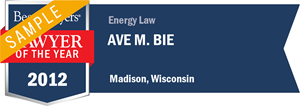 Ave M. Bie has earned a Lawyer of the Year award for 2012!