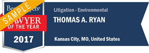 Thomas A. Ryan has earned a Lawyer of the Year award for 2017!