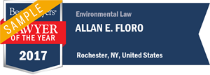 Allan E. Floro has earned a Lawyer of the Year award for 2017!