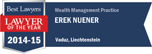 Erek Nuener has earned a Lawyer of the Year award for 2014!