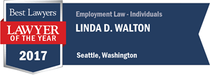 Linda D. Walton has earned a Lawyer of the Year award for 2017!