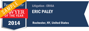 Eric Paley has earned a Lawyer of the Year award for 2014!