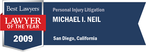 Michael I. Neil has earned a Lawyer of the Year award for 2009!