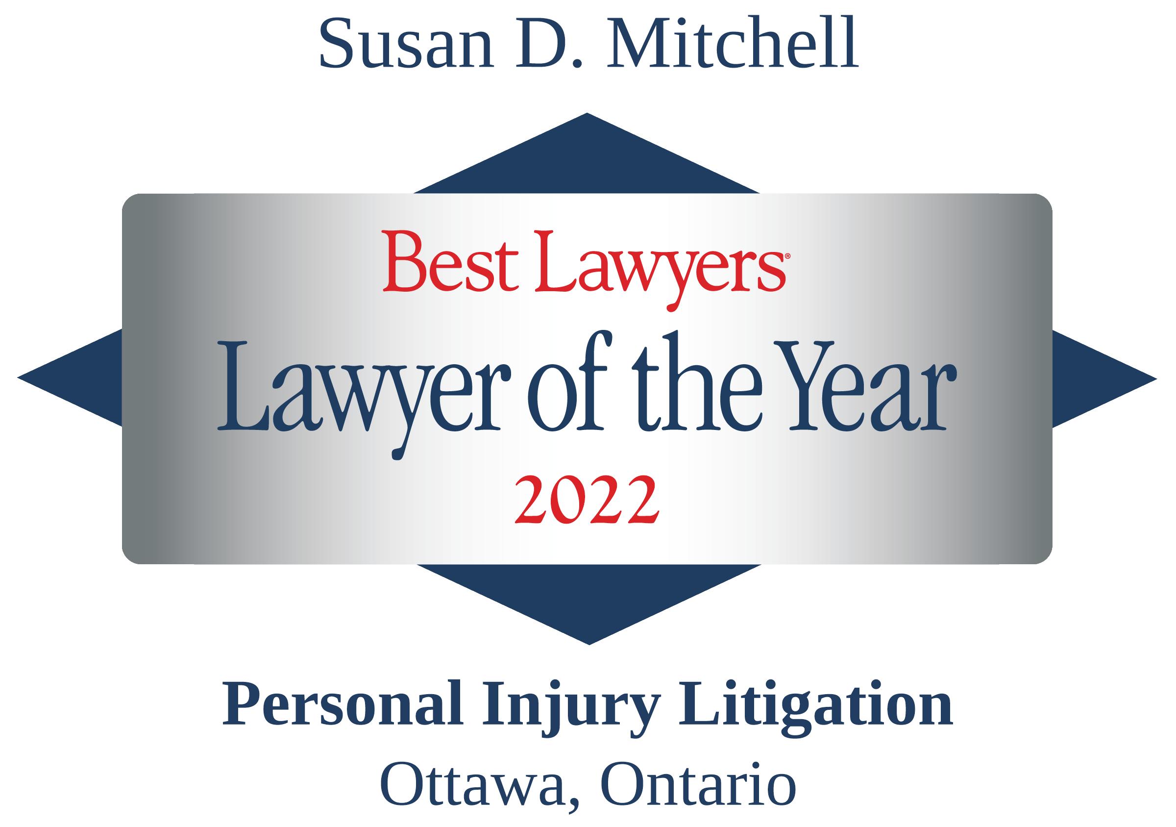 Best Lawyers - Susan D. Mitchell