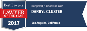 Darryl Cluster has earned a Lawyer of the Year award for 2017!