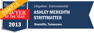 Ashley Meredith Lowe has earned a Lawyer of the Year award for 2013!