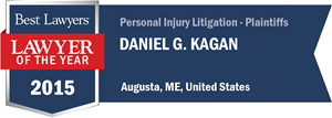 Daniel G. Kagan has earned a Lawyer of the Year award for 2015!
