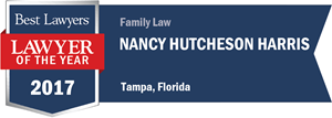 Nancy Hutcheson Harris has earned a Lawyer of the Year award for 2017!