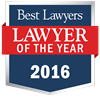 "Robin Abraham was awarded 2016 ""Lawyer of the Year"" in Elasticsearch.PracticeArea"