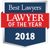 "Ashley Steele Nutley was awarded 2018 ""Lawyer of the Year"" in Elasticsearch.PracticeArea"