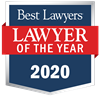 """Lawyer of the Year"" badge"