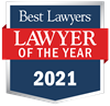 "Jonathan Ackerman was awarded 2021 ""Lawyer of the Year"" in Elasticsearch.PracticeArea"