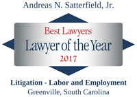 Best Lawyers - Lawyer of the Year 2017 - Andreas N. Satterfield